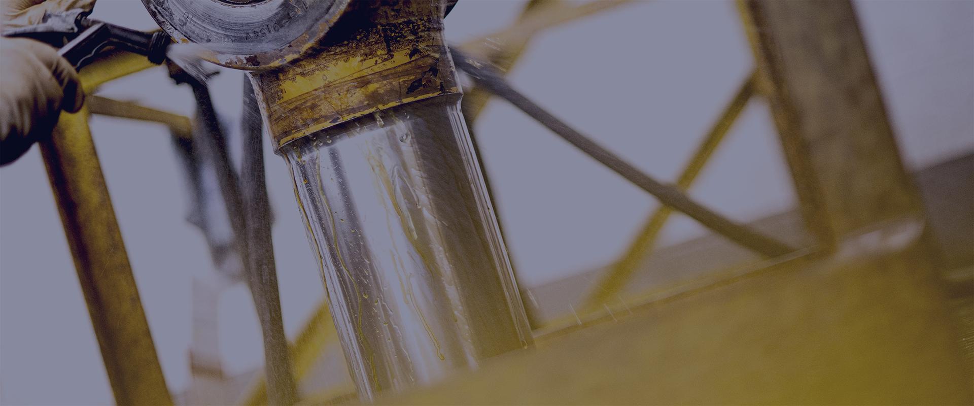 Header for cylinder chrome plating