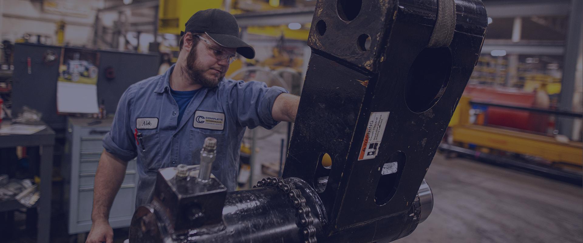 Cylinder reseals header